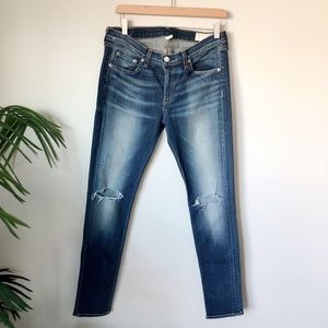 Rag & Bone Distressed Skinny Jeans Size 31